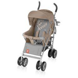 Baby Design, Bomiko XL, wózek spacerowy, Beige Darmowa dostawa do sklepów SMYK