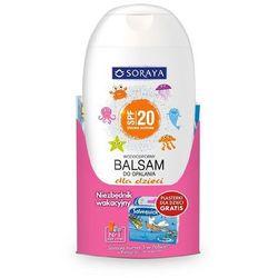 Soraya, balsam do opalania dla dzieci, SPF 20, 200 ml + plastry Salvequick gratis