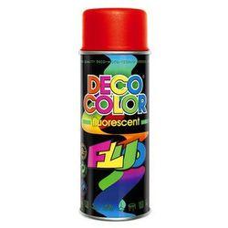Lakier fluorescencyjny Deco Color Czerwony 0,4 l