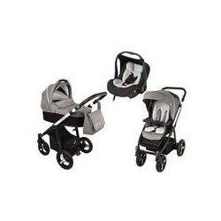 Wózek wielofunkcyjny 3w1 Lupo Husky + Leo Baby Design (czarny 2016)