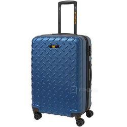 dcfe3822104b8 Caterpillar Industrial Plate walizka średnia 65 cm CAT / niebieska - Sea  Blue