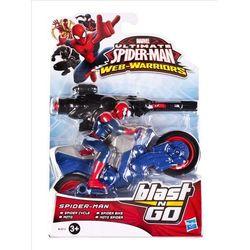 Figurka HASBRO SPD Ultimate Spider-Man Quick Launch ścigacz i wyrzutnia B0748 W6