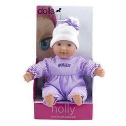 Lalka bobas Holly fioletowa 20 cm