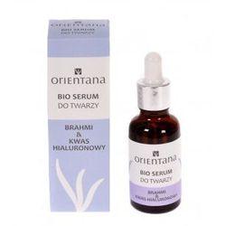 BIO Serum do twarzy Brahmi & Kwas Hialuronowy - 30ml - Orientana