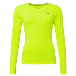 Nike Performance MILER Bluzka z długim rękawem volt/reflective silver