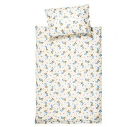 Jahu Pościel bawełniana do łóżeczka Niedźwiadek, 90 x 130 cm, 40 x 60 cm