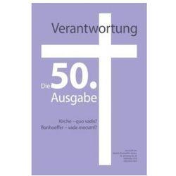 Verantwortung - Zeitschrift des Dietrich-Bonhoeffer-Vereins
