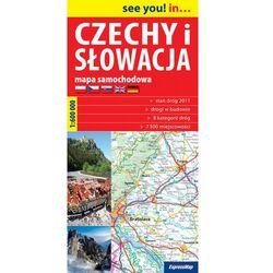 Czechy I Słowacja Mapa Samochodowa 1:600 000 (opr. miękka)