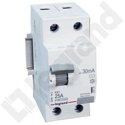 Legrand Wyłącznik różnicowoprądowy RX3 2P 25A 30mA AC 402024
