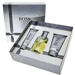 Hugo Boss Bottled (Szary) EDT 100 ml+Balsam 75 ml+ŻEl 50 ml
