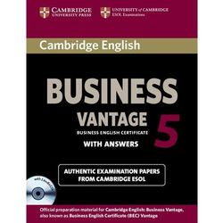 Cambridge English Business 5 Vantage Self-Study