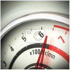 Obraz Ograniczenie prędkości silnika - Obrotomierz