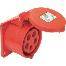 Gniazdo PCE 325-6tt, 400 V, 32 A, IP44