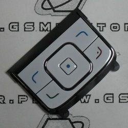 Klawiatura Nokia 6288 nawigacyjna biała