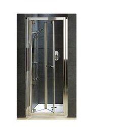 KOŁO GEO 6 Drzwi prysznicowe 80cm, profile srebrny połysk, szkło transparentne REFLEX GDRB80R22003