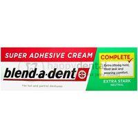 BLEND-A-DENT Extra Stark Neutral 47g - neutralny klej do protez bez substancji smakowych (zielony)