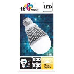 Żarówka LED TB Energy E27 230V 10W biały ciepły 800 lumenów SMD - PROMOCJA!!!