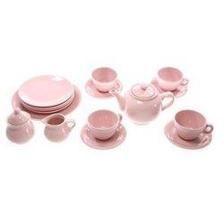 Zestaw do herbaty RAINBOW różowy