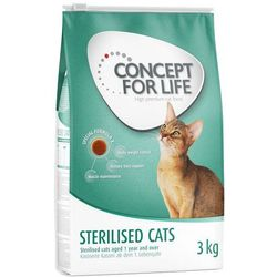 Concept for Life Sterilised Cats - 3 kg