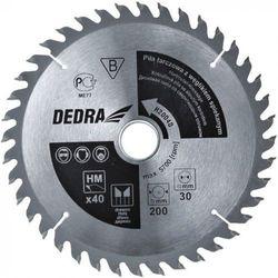 Tarcza do cięcia DEDRA H25080E 250 x 16 mm do drewna HM