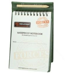Highlander Notes Wodoodporny z Ołówkiem Waterproof Notebook