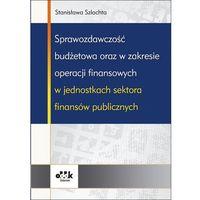 Sprawozdawczość budżetowa oraz w zakresie operacji finansowych w jednostkach sektora finansów publicznych (opr. miękka)