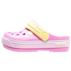 Crocs CROCBAND Klapki party pink/ballerina pink