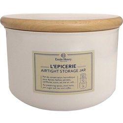 Ceramiczny pojemnik kuchenny Emile Henry biały