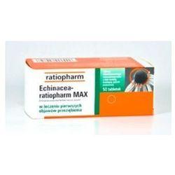 ECHINACEA Ratiopharm MAX x 50 tabletek