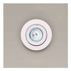 Oczko LAMPA sufitowa H0036 Maxlight podtynkowa OPRAWA halogenowa wpust okrągła biały