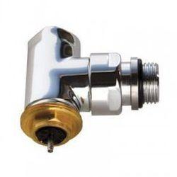 Zawór termostatyczny kątowy Terma, gwint zewnętrzny - chrom TGZTCR009