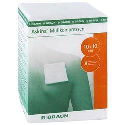 Askina 10x10 cm kompres z gazy niejałowy 100 szt.