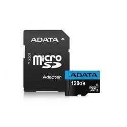 Karta MicroSD ADATA microSD Premier 128GB UHS1/CL10 85/25MB/s+adapter - AUSDX128GUICL10 85-RA1 - AUSDX128GUICL10 85-RA1 Darmowy odbiór w 20 miastach!