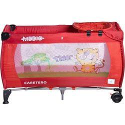 Łóżeczko turystyczne CARETERO Safari Tiger czerwony + DARMOWY TRANSPORT!