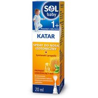 SOLbaby Katar - spray do nosa 20 ml