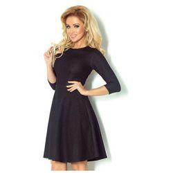 87-1 Rozkloszowana sukienka z rękawkiem 3