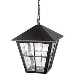 Zewnętrzna LAMPA wisząca EDINBURGH BL38 Elstead ZWIS metalowy OPRAWA ogrodowa outdoor czarny