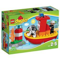 Lego DUPLO 10591 łódź strażacka klocki duplo 10591