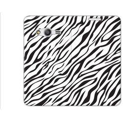 Flex Book Fantastic - Samsung Galaxy Trend 2 Lite - pokrowiec na telefon - zebra