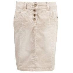 TOM TAILOR Spódnica jeansowa greige