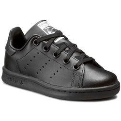 Buty adidas - Stan Smith C BA8376 Cblack/Cblack/Cblack