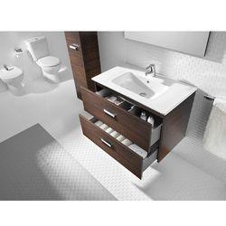 Zestaw łazienkowy Unik 80 cm z szufladami Roca Victoria A855852806 Biel