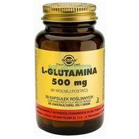 SOLGAR L-Glutamina 50 Kapsułek
