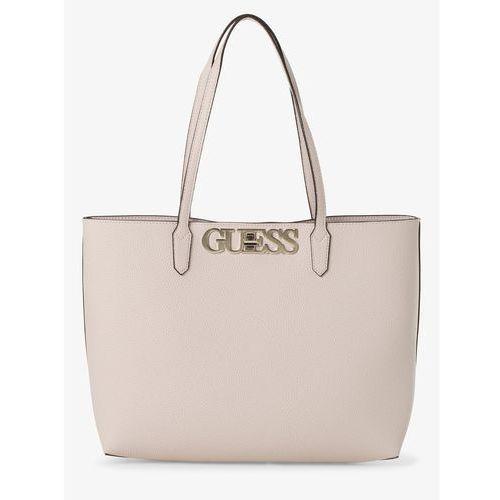 Guess Jeans Damska torba shopper z torebką wewnętrzną, różowy