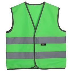 Kamizelka dziecięca ostrzegawcza VWEN01-C ( zielona)
