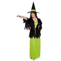 Czarownica Melody zielona - stroje dla dorosłych