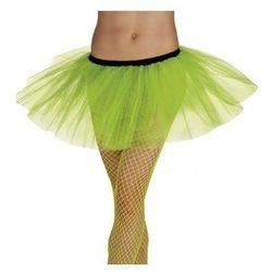 Spódniczka baletnicy tiulowa - zielona neon - stroje/przebrania dla dorosłych