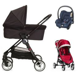 Baby Jogger City Mini 4+gondola+fotelik (do wyboru)+GRATIS