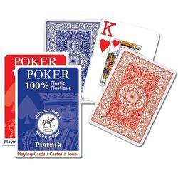Karty do gry Piatnik Poker 1 talia duże indeksy