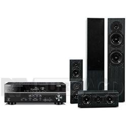 Yamaha RX-V381, Prism Audio Onyx 100 (czarny) - produkt w magazynie - szybka wysyłka!